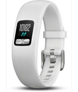 Garmin Vivofit 4 Aktivitätstracker Display Schritte Schlaftracking, Farbe:Weiß, Größe:S / M