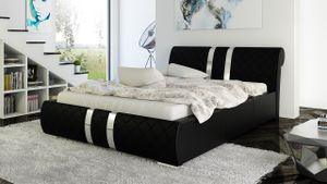 Polsterbett Bett Doppelbett AMARO 180x200cm inkl.Bettkasten