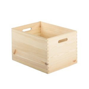 ASTIGARRAGA CBS403023, Aufbewahrungsbox, Holz, Rechteckig, Holz, Einfarbig, Holz