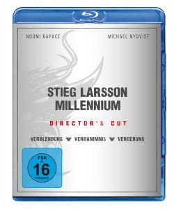 Millennium Trilogie - Verblendung / Verdammnis / Vergebung Bluray Box