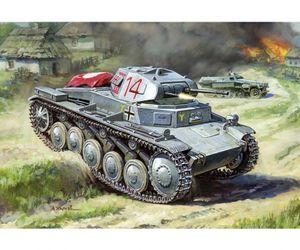 1:100 WWII Deutscher Panzer II 500786102