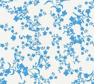 Esprit Vliestapete Romantic Botanics Tapete blau creme 10,05 m x 0,53 m 357532 35753-2
