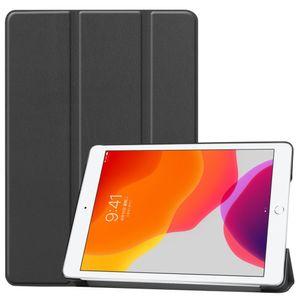 Premium Smartcover Schwarz Tasche Etuis Hülle für Apple iPad 10.2 2019 / 2020 7. / 8.Generation