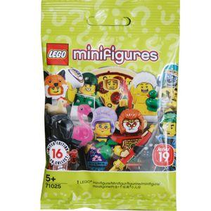 LEGO® Minifigures Minifigures Classic sort. Thekend. kl., Sept. 2019