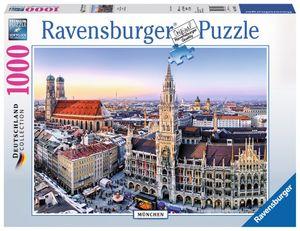1000 Teile Ravensburger Puzzle München 19426