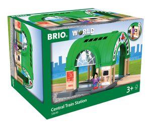 BRIO World - 33649 Neuer Hauptbahnhof mit Ticketautomat