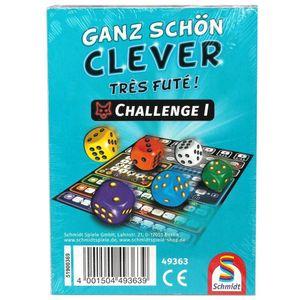 Schmidt Spiele Ganz schön clever: Challenge I Zusatzblock (deutsch)