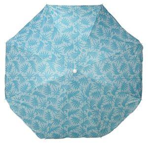 Sonnenschirm UV Schutz 50+ Strandschirm Balkonschirm Schirm knickbar Ø 160 cm Blau