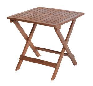 Holz Klapptisch 45x45x45cm - Wooden Table - klappbar