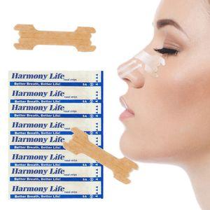 100 Stück Nasenpflaster Better Breath Größe L Groß Large Besser Atmen Hautfarben, Größe: 55 mm x 16 mm(L)