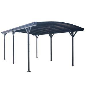 Design Carport FALO - Dunkelgrau