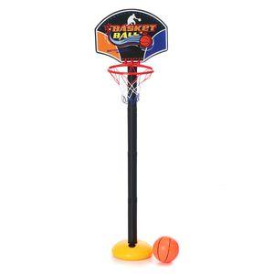 Basketballkorb Indoor Outdoor Spiel Sport Junge Basketball Spiezeug Anhebbar DE