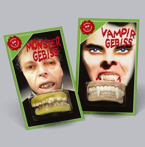 Vampir Gebiss groß, 1Stück
