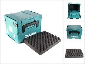 Makita MAKPAC 4 Systemkoffer - mit Universaleinlage für Makita 18 V Akku Geräte Schrauber Sägen Schleifer