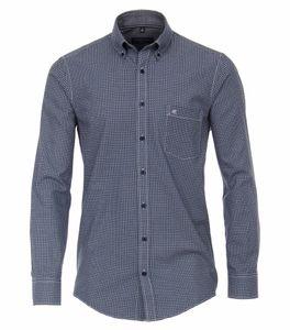 Casa Moda - Casual Fit  - Herren Freizeit Hemd mit Kent-Kragen (403491100), Größe:XXL, Farbe:Blau (100)