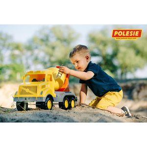 WADER LKW Betonmischer Kinderspielzeug Baufahrzeug Sandkastenspielzeug