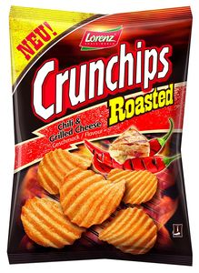Lorenz Kartoffel Crunchips Roasted Chili Grilled Cheese 175g