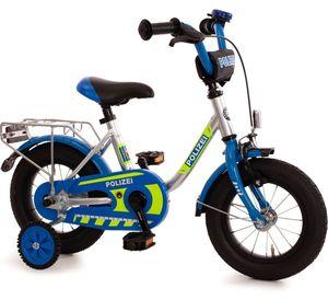 Kinderfahrrad 12 Zoll Fahrrad für Kinder Junge Mädchen Kinderrad 14 16 Polizei