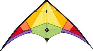 Lenkdrachen Rookie Rainbow 120x60cm, 1 Stück