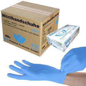 SFM ® SOFTLIGHTS : L Nitrilhandschuhe puderfrei F-tex blau (1000)
