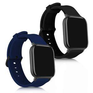 2x Armband kompatibel mit Huami Amazfit GTS / GTS 2