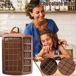 Quadratische Schokoladenform Schokoladenkuchen Seifenform Backen Eiswürfelform