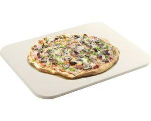 Grill- und Pizzastein rechteckig für Grill und Backofen