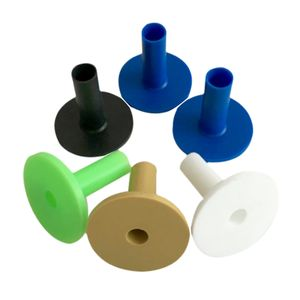 6 Packungen Gummi Golf Tee Halter Für Golf Driving Range Tee Practice 54mm Größe 54mm