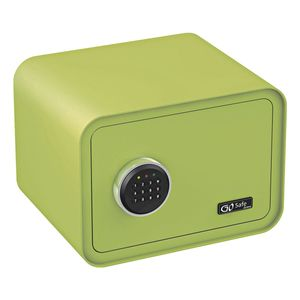 Olympia Go Safe 100 Tresor Design Safe, Zahlencode, Farbe: Apfelgrün