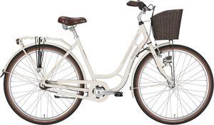 Excelsior Swan-Retro Alu 3-Gang Creme 28-Zoll 53 cm  mit Nabendynamo // Hollandrad // Damenrad // Fahrrad //