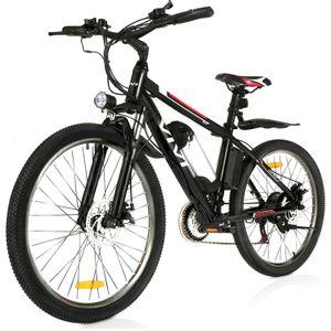 VIVI E-bikes Fahrräder 26 Zoll E-Trekkingrad Elektrofahrrad  Mountainbike mit LED Fahrradlicht, City Bike E-MTB Elektrisches Fahrrad mit 36V 250W und 21-Gang,für Damen, Herren, Unisex