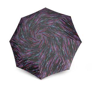 Knirps X1 Lightning  UV Protection kleiner Regenschirm Taschenschirm, Farbe:Black