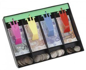Kinder Kaufladen Spielgeld Kassenschublade mit Euro Geld Münzen Replik