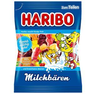 Haribo Milchbären mit Milchschaum Fruchtsaftanteil und Magermilch 175g