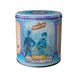 Van Houten - Kakaopulver in blauer Vintage Dose - 230g