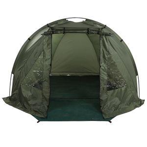 Angelzelt Wurfzelt Campingzelt Karpfenzelt Short Session Shelter Mit Fenster 215x121x118cm Oxford Tuch + Glasfaser Wasserdicht Winddicht
