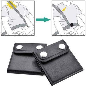 Sicherheitsgurt-Positionierer, 2 Stück Positionierer Auto Sicherheitsgurt-Einsteller, Universal-Fahrzeug-Sicherheitsgurt-Abdeckung