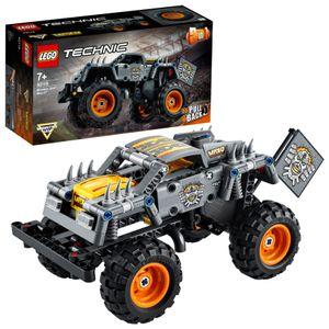 LEGO 42119 Technic Monster Jam Max-D Truck-Spielzeug oder Quad , 2-in-1 Bauset