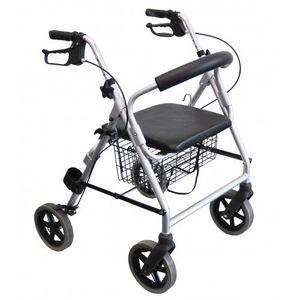 Trendmobil - Leichtgewicht-Rollator LR 53, faltbar mit Korb und Rückenbügel