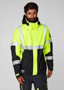 Helly Hansen Jacke 71372 Icu Winter Jacket 369 Yellow/Ebony-XXXL