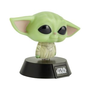 The Mandalorian Icon Light 3D Yoda Baby #001