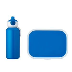 Mepal Lunchset Campus 3.0 blau mit Pop-up Trinkflasche