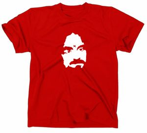 Styletex23 T-Shirt Charles Manson Kult, rot, XXL