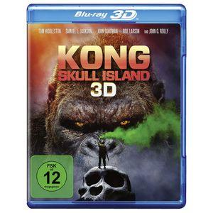 Kong: Skull Island 3D - Blu-ray