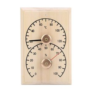 Mllaid Sauna-Raum-Thermometer, dauerhafter Sauna-Digital-Thermometer Hygrometer-Sauna-Zimmer-Zubehör