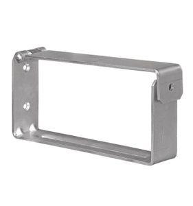 VORMANN Leiter- und Gerätehalter Länge 200 mm Höhe 90 mm Breite 40 mm, 2 Stück