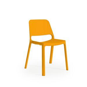 """Mayer Sitzm""""bel Stapelstuhl myNUKE orange 2050-62"""