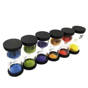 Sanduhr-Set Farben Sanduhr Minuten Sanduhruhr Sanduhr Blau Timer wie beschrieben