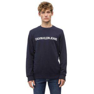 Calvin Klein Jeans Logo Sweatshirt Night Sky L