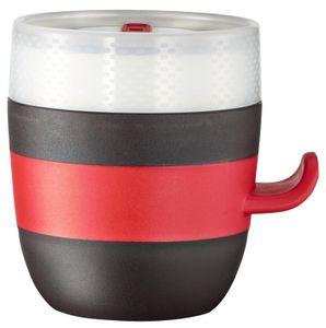 Tefal Quick range Ingenio K20502, Eins/Eine(r), 0,5 l, Schwarz, Rot, Weiß, Keramik, Universal, 133 mm